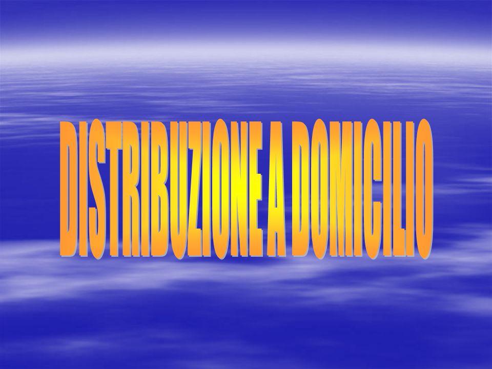 DISTRIBUZIONE A DOMICILIO