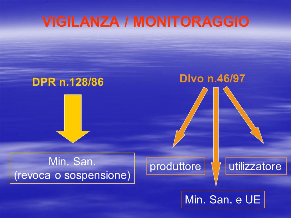 VIGILANZA / MONITORAGGIO