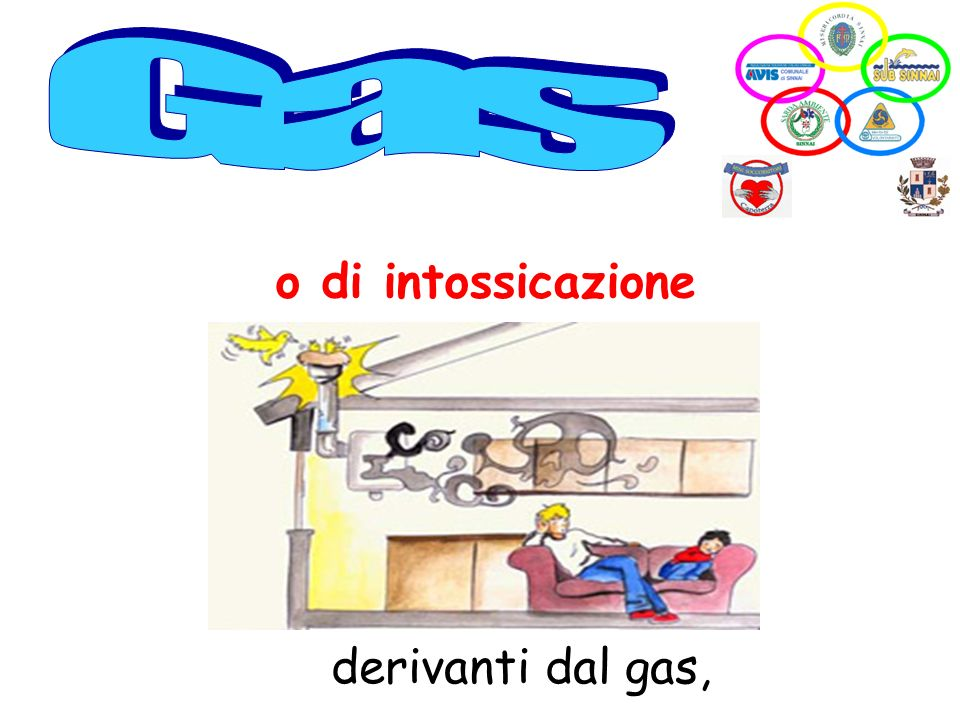 Gas o di intossicazione derivanti dal gas,