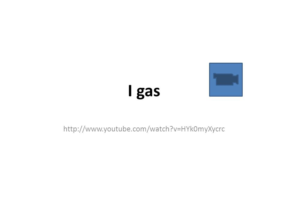 I gas http://www.youtube.com/watch v=HYk0myXycrc