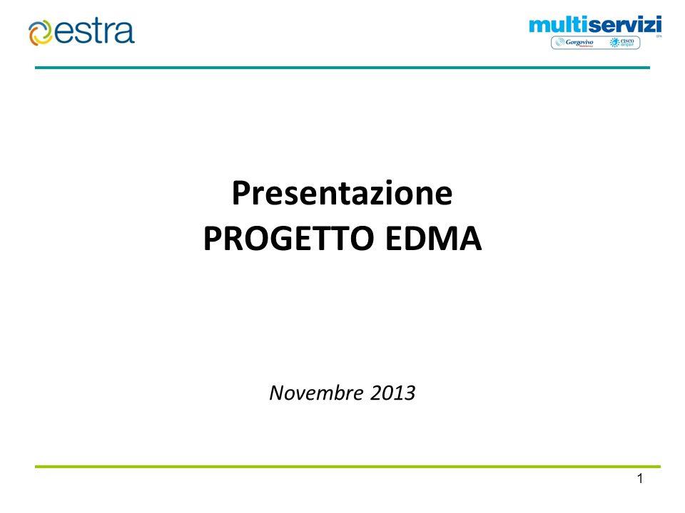 Presentazione PROGETTO EDMA