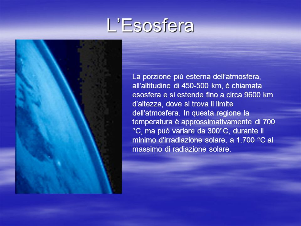 L'Esosfera