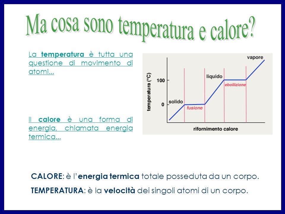 Ma cosa sono temperatura e calore