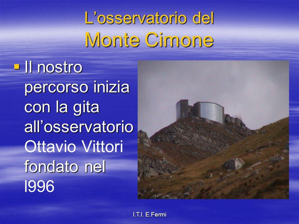 L'osservatorio del Monte Cimone