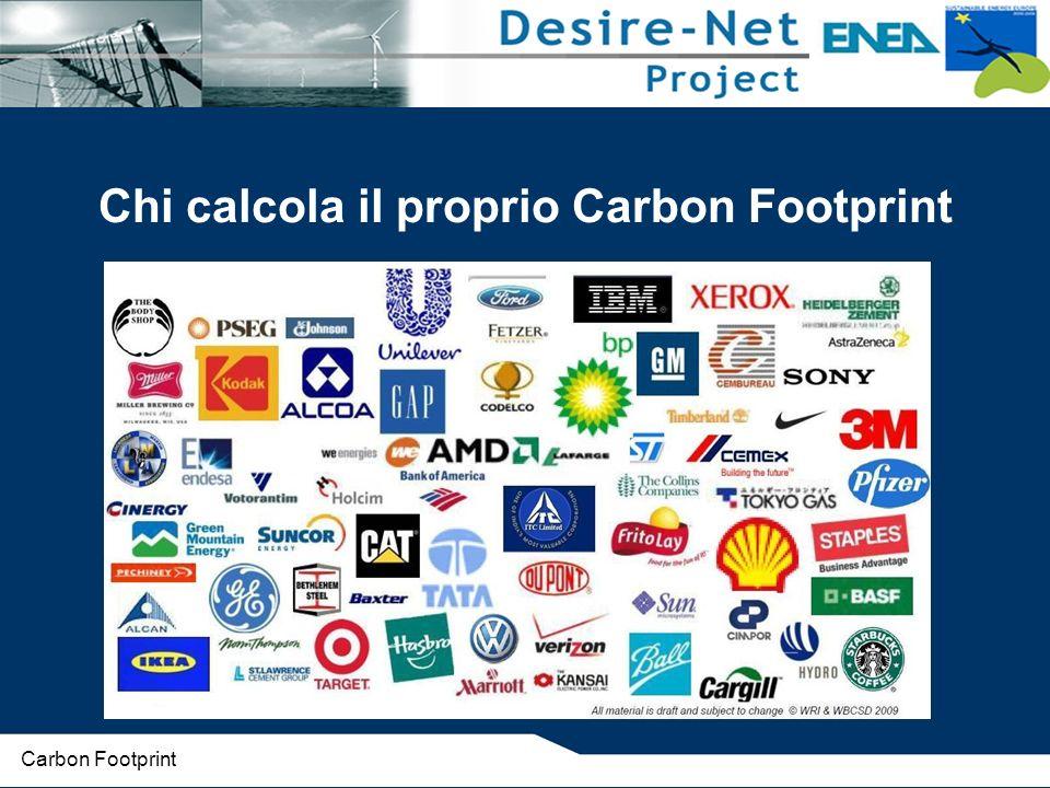 Chi calcola il proprio Carbon Footprint
