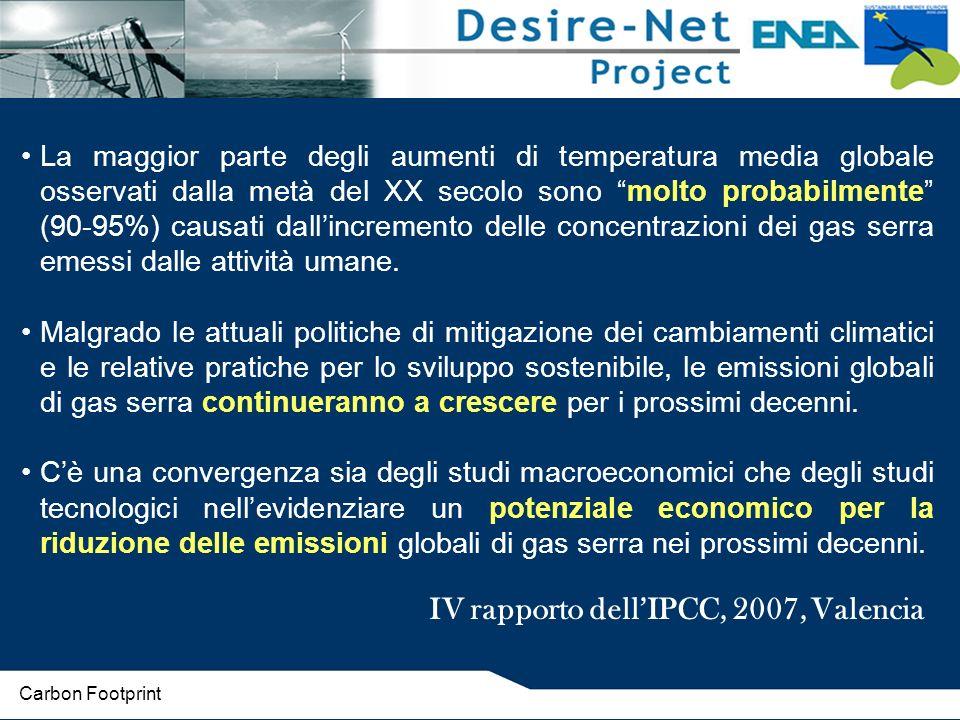 IV rapporto dell'IPCC, 2007, Valencia