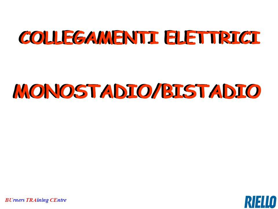 MONOSTADIO/BISTADIO MONOSTADIO/BISTADIO COLLEGAMENTI ELETTRICI