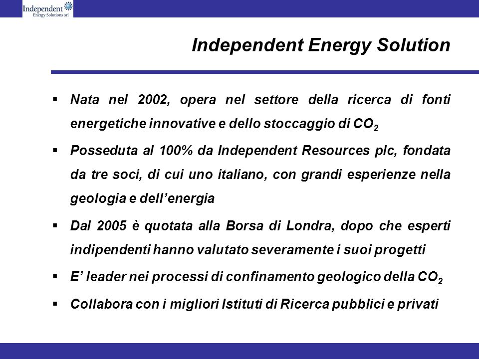 Independent Energy Solution