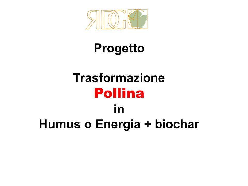 Humus o Energia + biochar