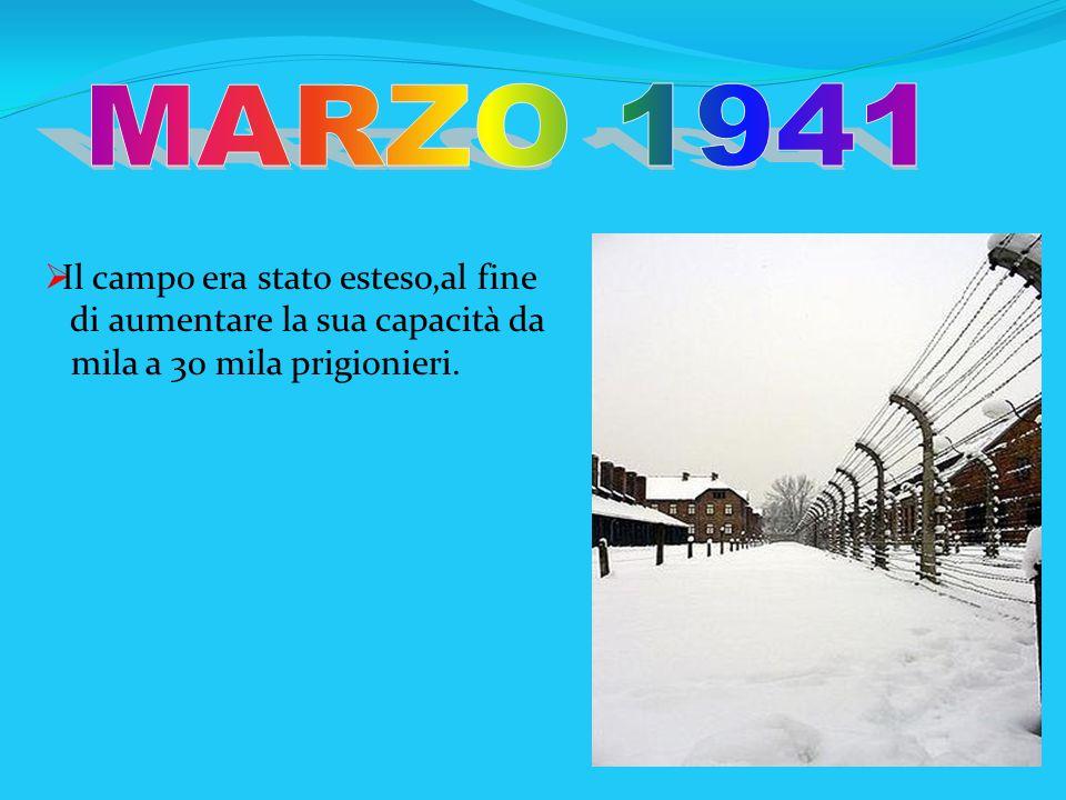 MARZO 1941 Il campo era stato esteso,al fine