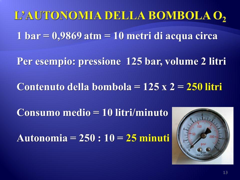 L'AUTONOMIA DELLA BOMBOLA O2