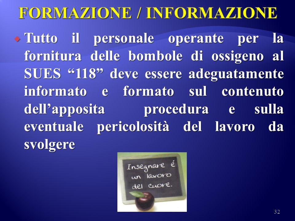 FORMAZIONE / INFORMAZIONE