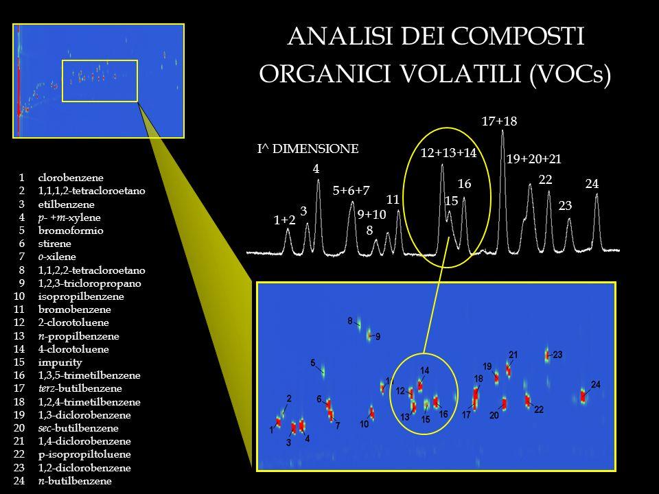 ANALISI DEI COMPOSTI ORGANICI VOLATILI (VOCs)