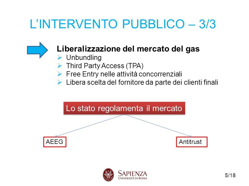 L'INTERVENTO PUBBLICO – 3/3