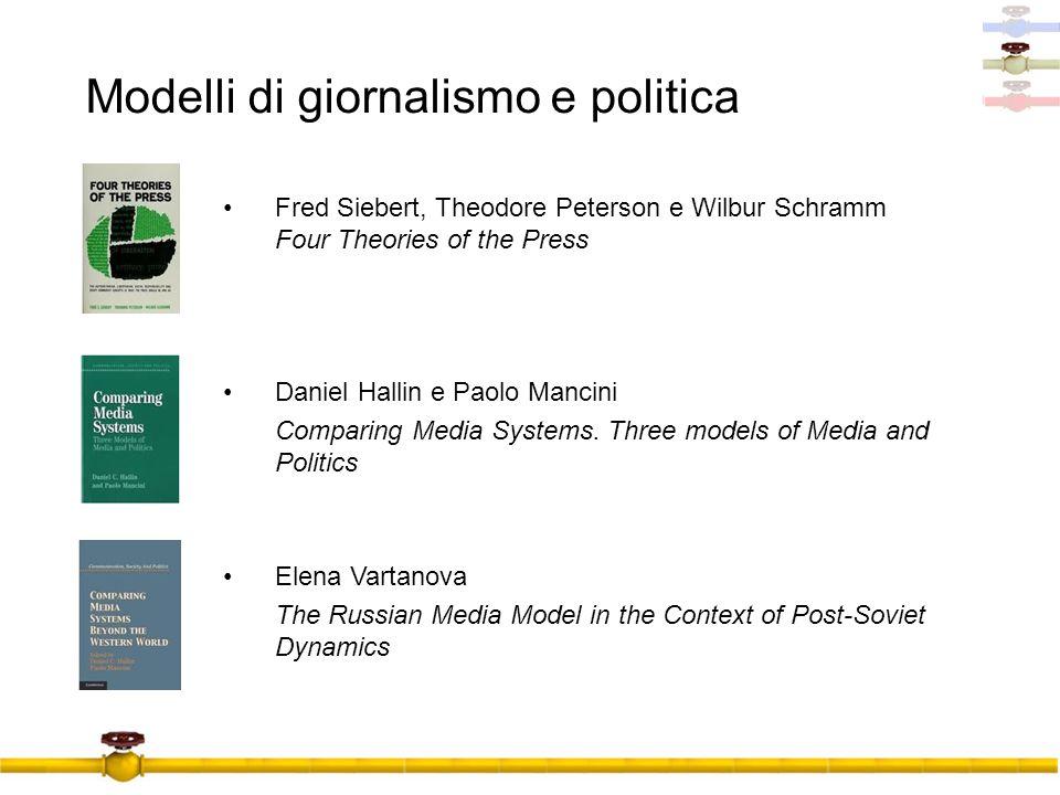 Modelli di giornalismo e politica