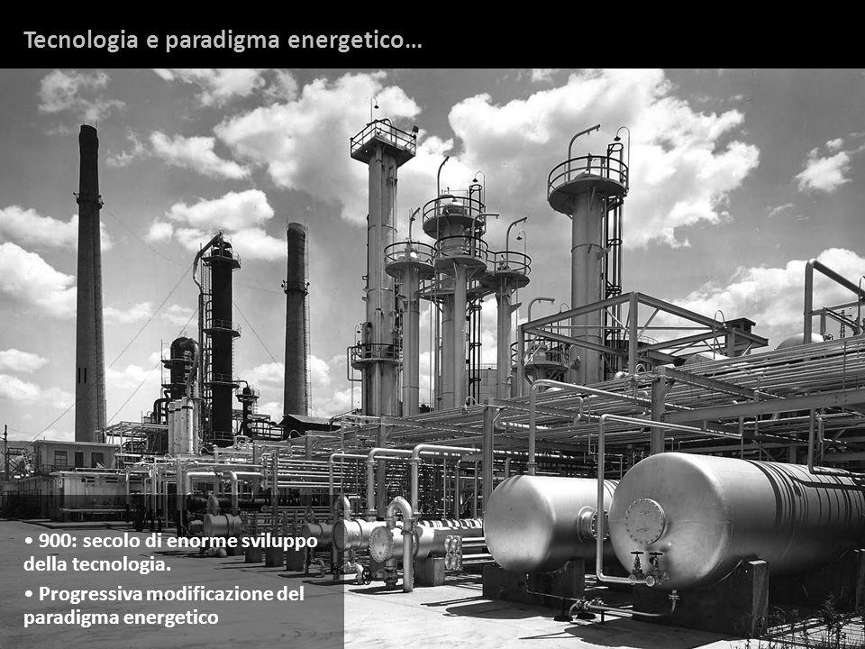 Tecnologia e paradigma energetico…