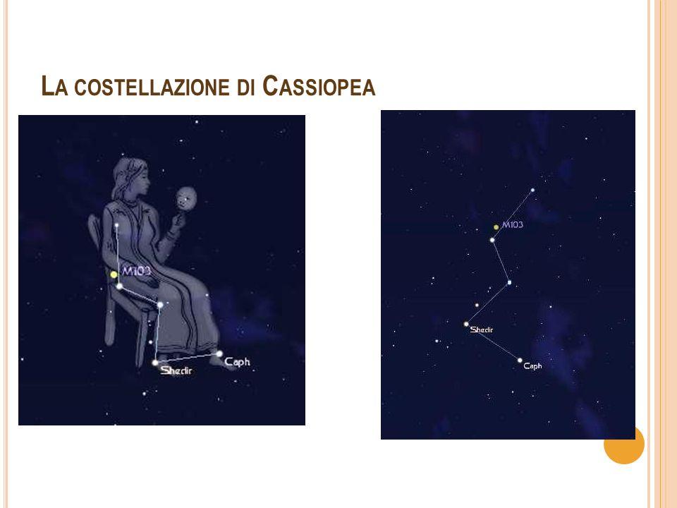 La costellazione di Cassiopea