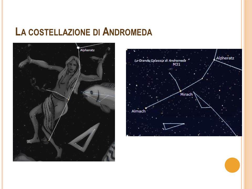 La costellazione di Andromeda