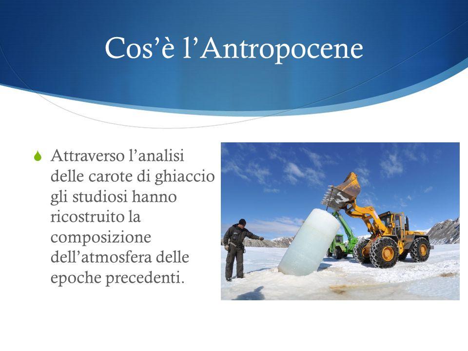 Cos'è l'Antropocene