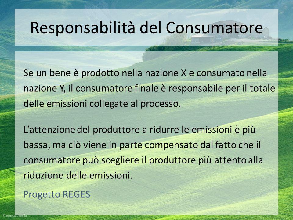 Responsabilità del Consumatore