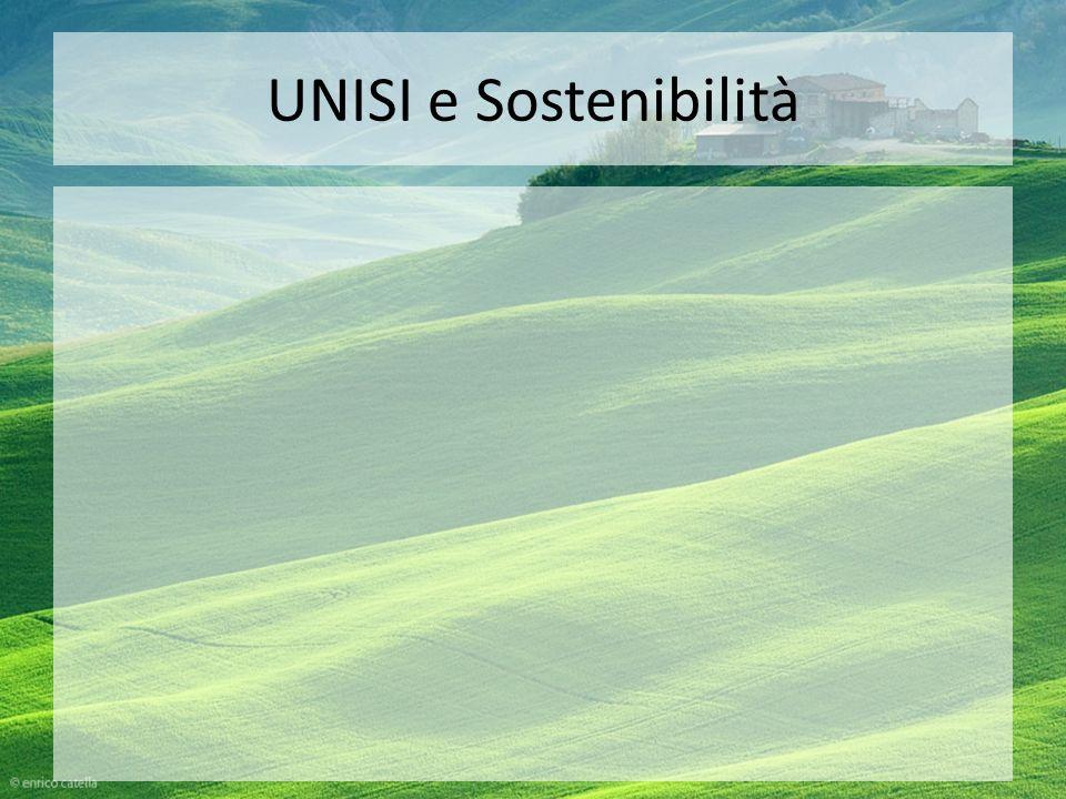 UNISI e Sostenibilità