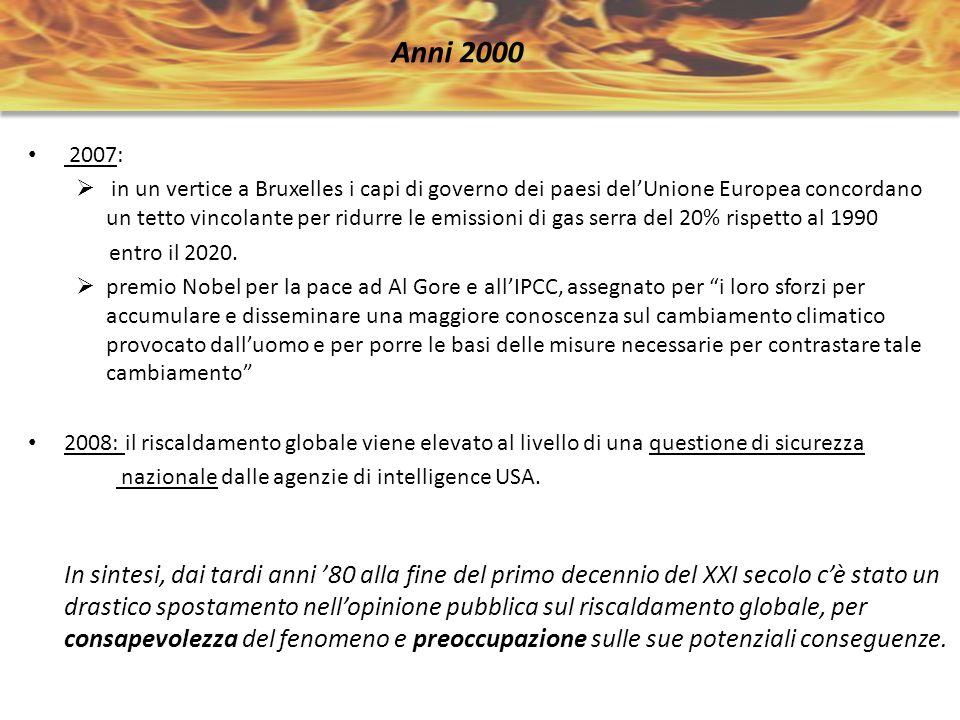 Anni 2000 2007:
