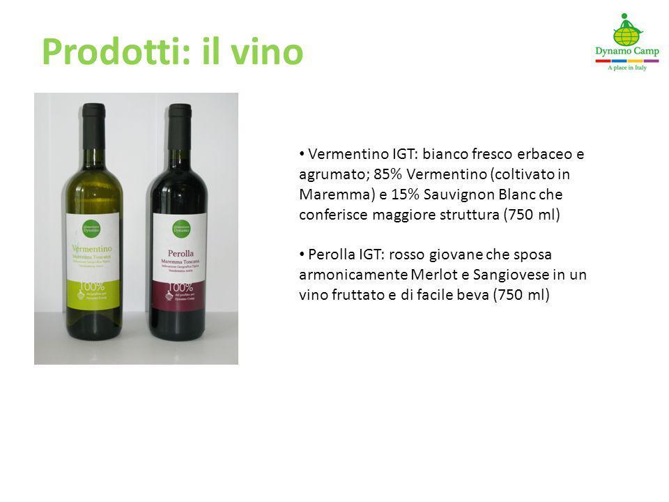 Prodotti: il vino