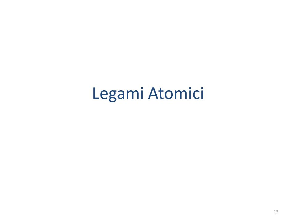 Legami Atomici