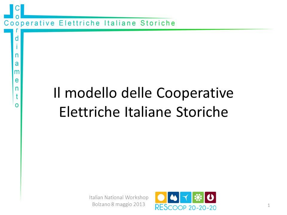 Il modello delle Cooperative Elettriche Italiane Storiche
