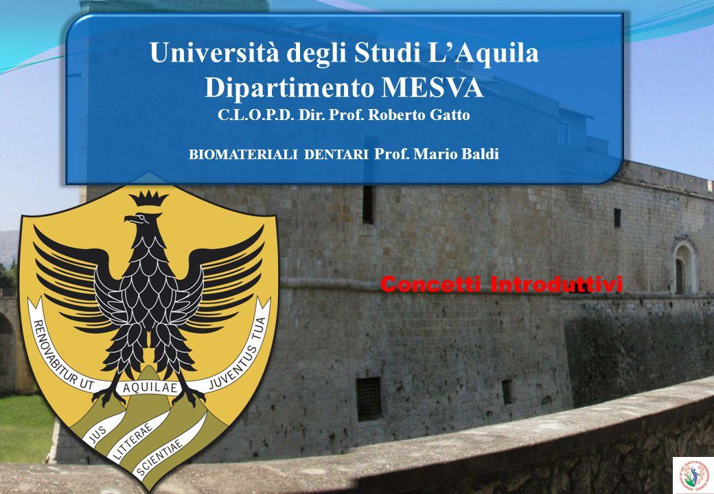 Università degli Studi L'Aquila Dipartimento MESVA