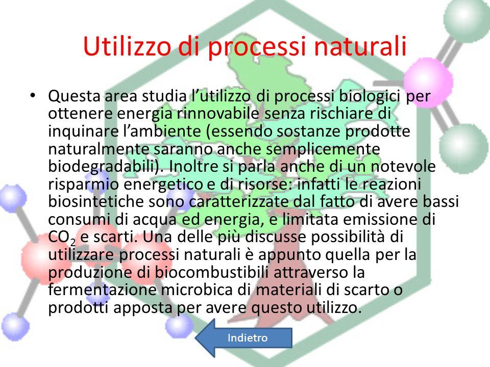 Utilizzo di processi naturali