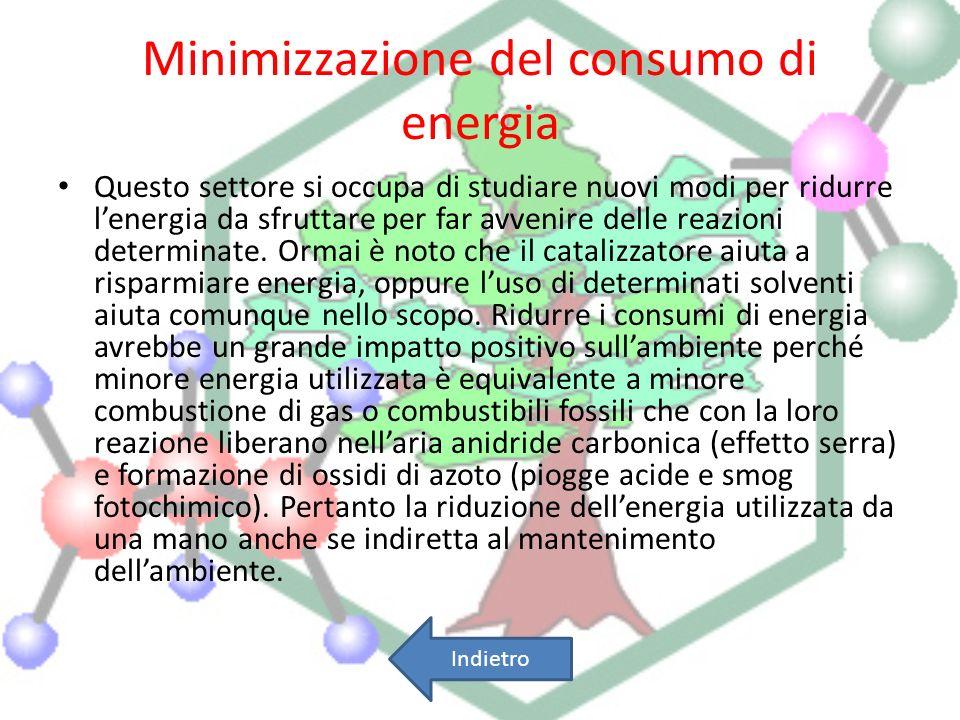 Minimizzazione del consumo di energia