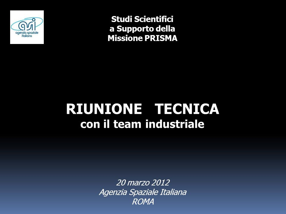 con il team industriale