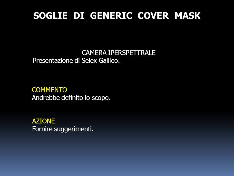 SOGLIE DI GENERIC COVER MASK