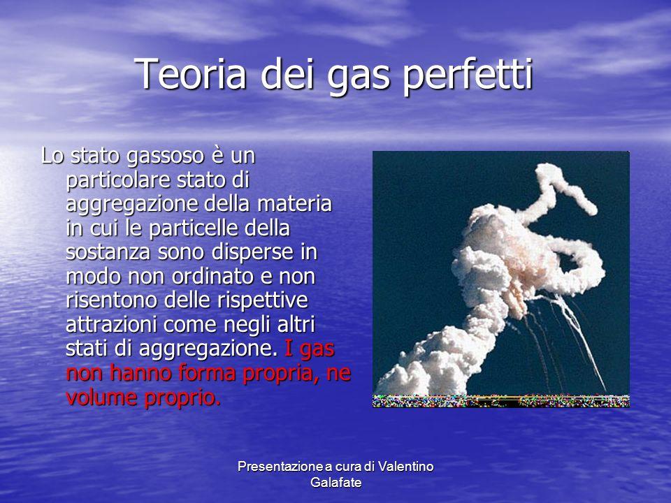 Teoria dei gas perfetti