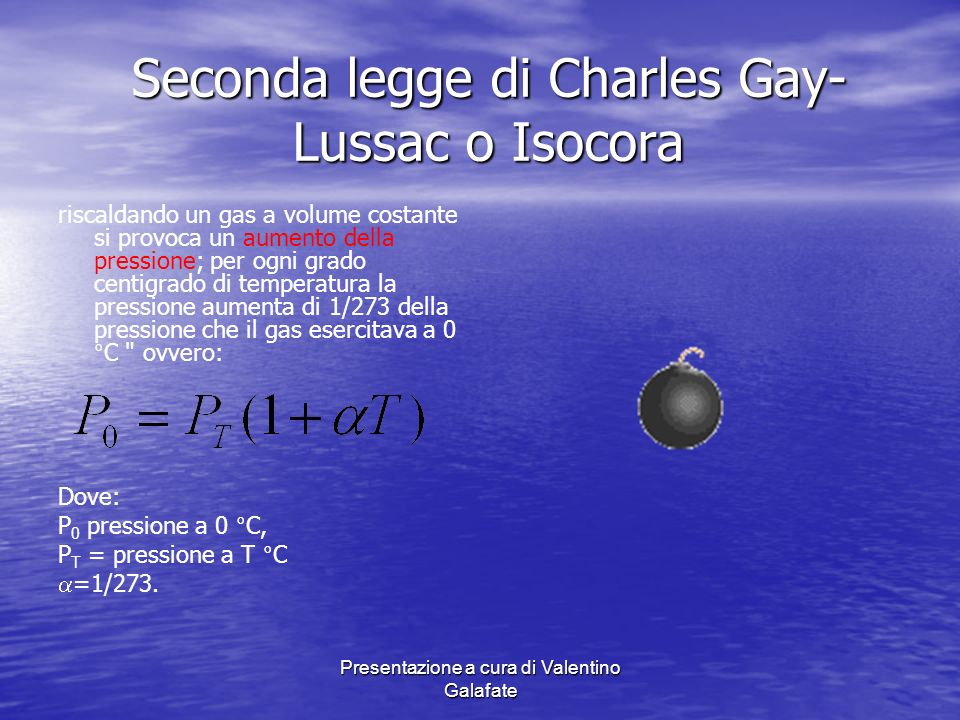 Seconda legge di Charles Gay-Lussac o Isocora