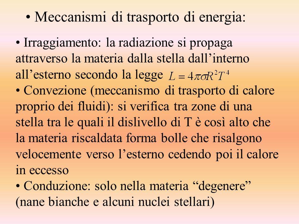 Meccanismi di trasporto di energia:
