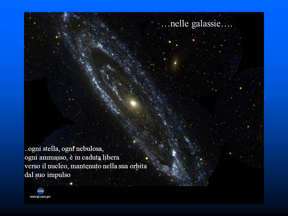 Caduta libera 2 …nelle galassie….