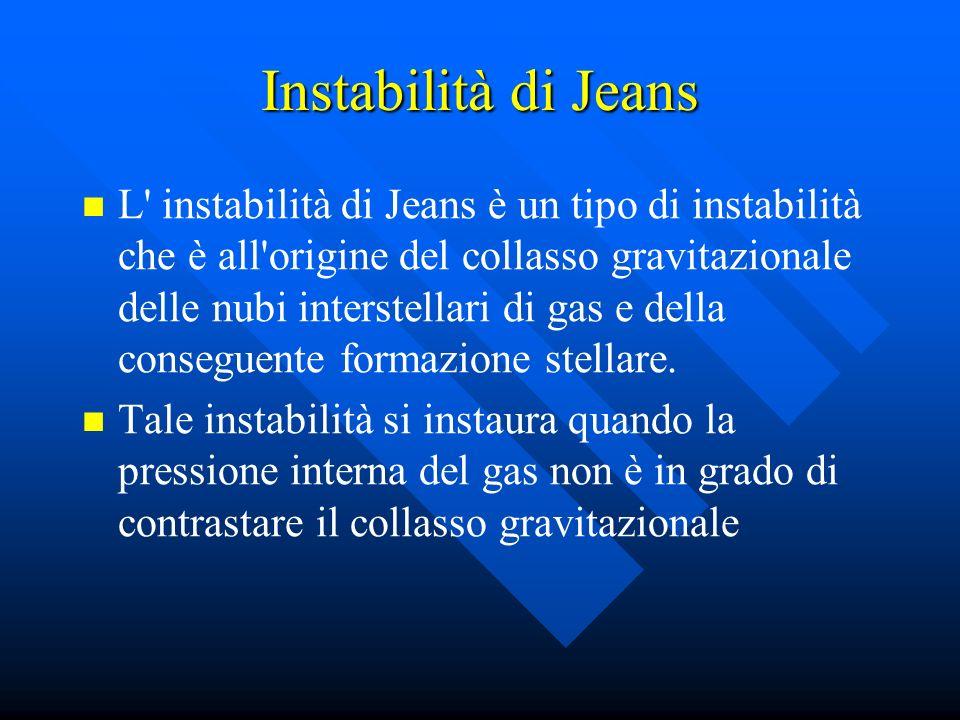 Instabilità di Jeans