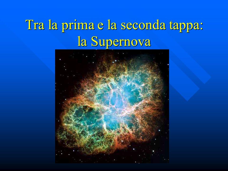 Tra la prima e la seconda tappa: la Supernova