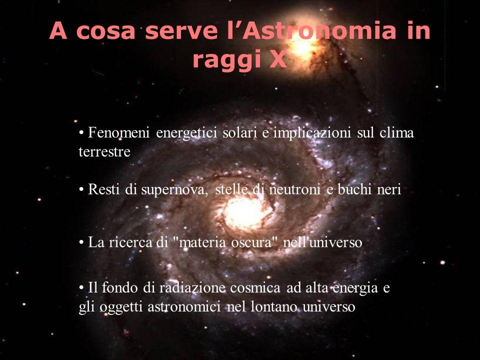 A cosa serve l'Astronomia in raggi X