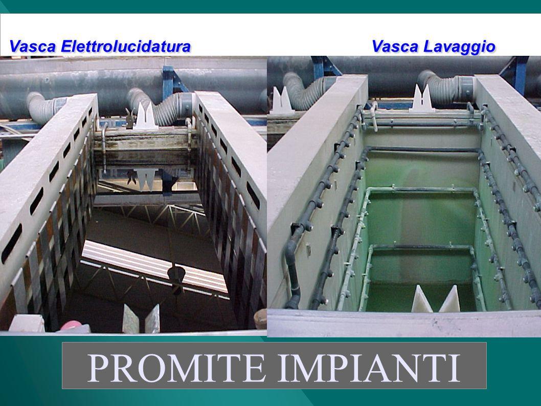 Vasca Elettrolucidatura Vasca Lavaggio