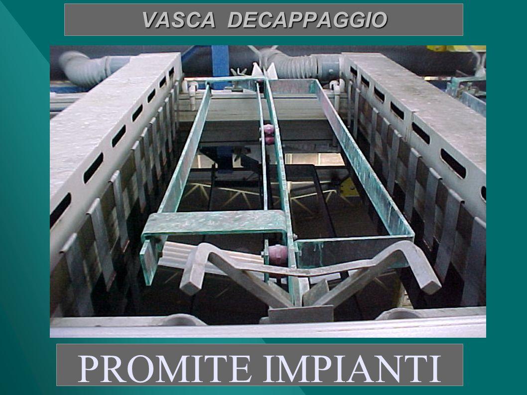 VASCA DECAPPAGGIO PROMITE IMPIANTI