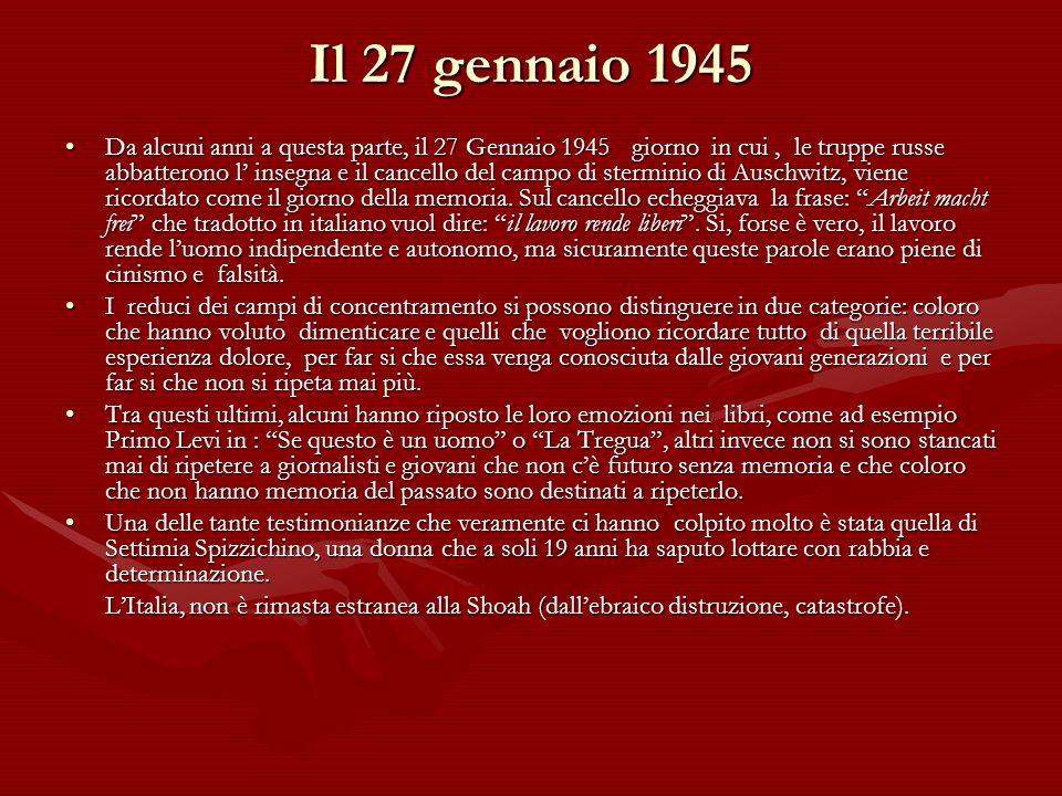 Il 27 gennaio 1945