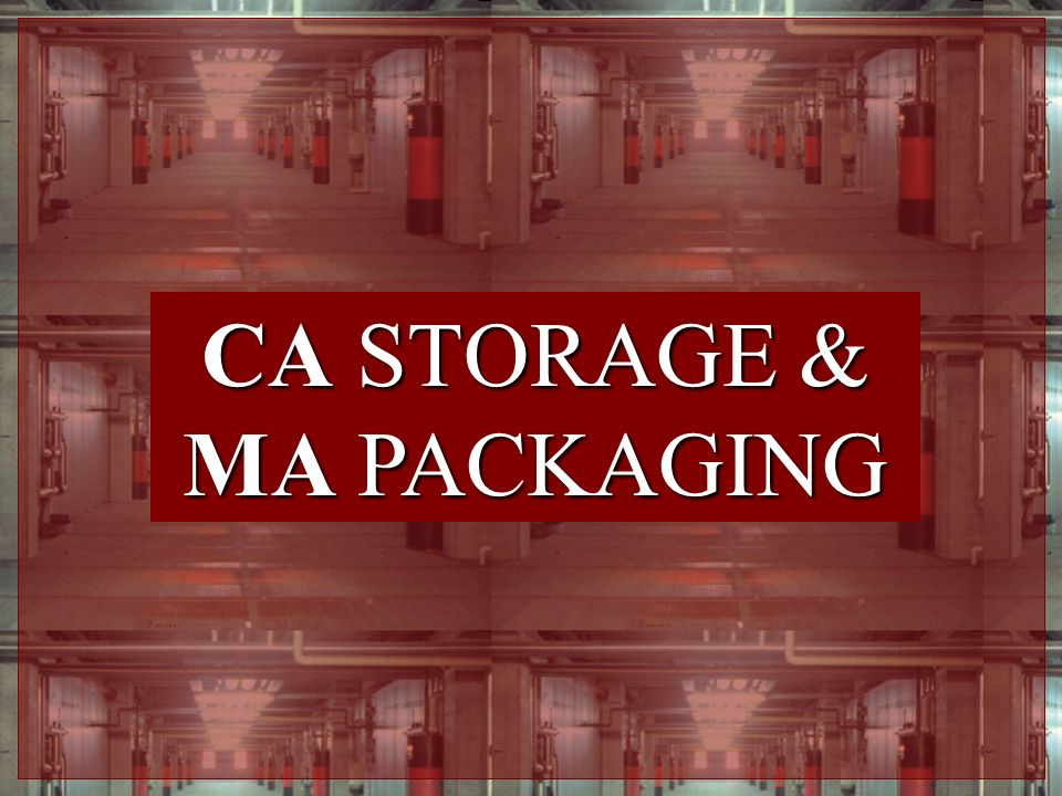 CA STORAGE & MA PACKAGING
