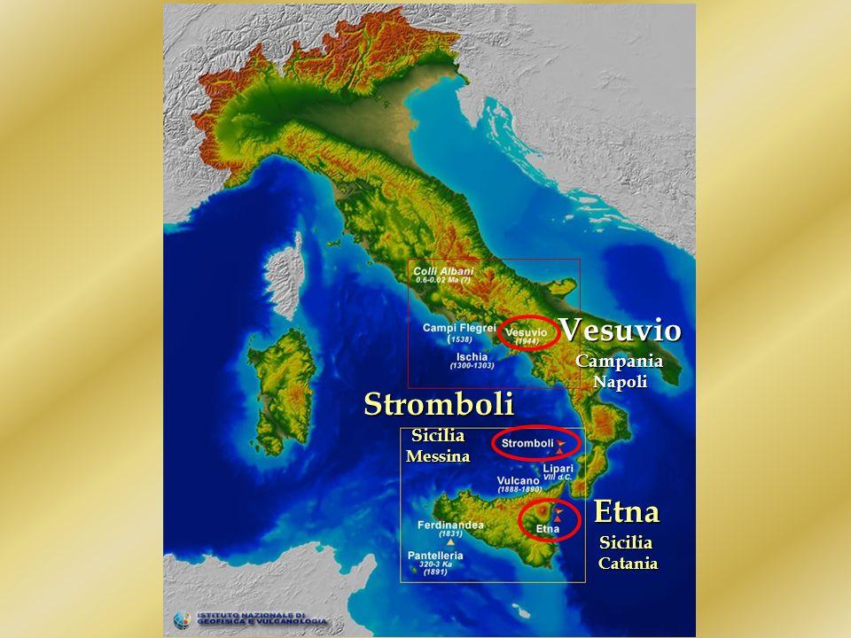Vesuvio Stromboli Etna Sicilia