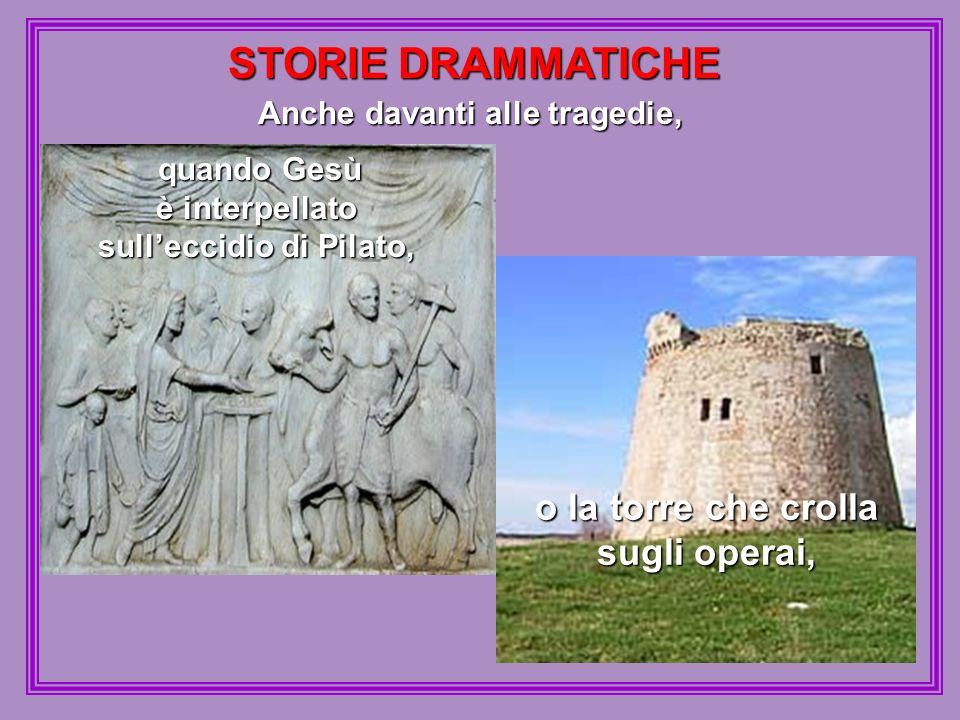 STORIE DRAMMATICHE o la torre che crolla sugli operai,