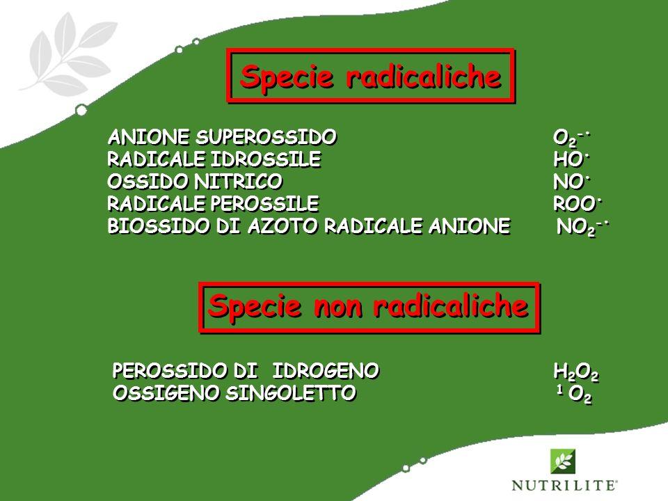 Specie non radicaliche