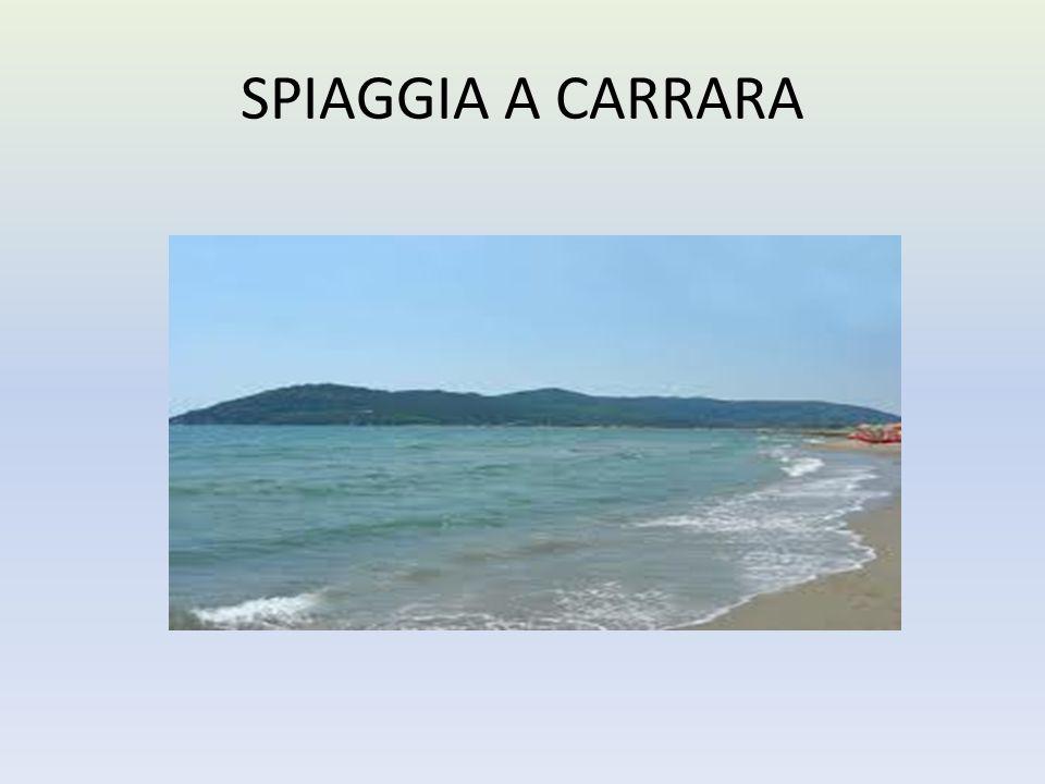 SPIAGGIA A CARRARA