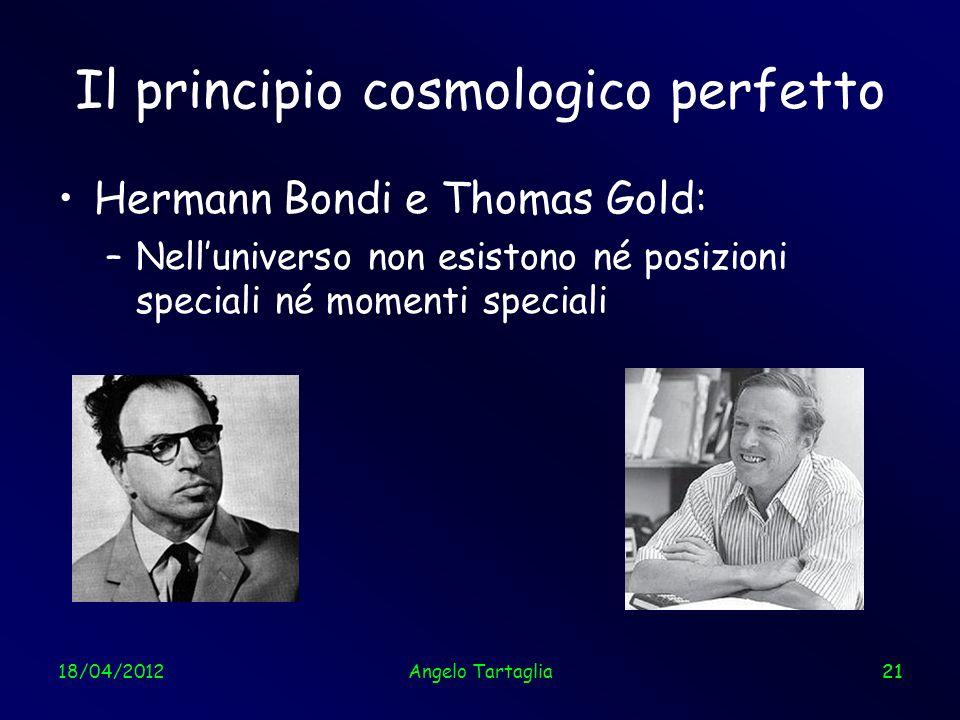 Il principio cosmologico perfetto